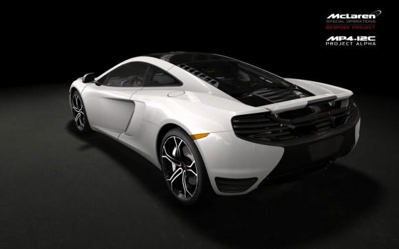 "McLaren MP4-12C ""Project Alpha"""
