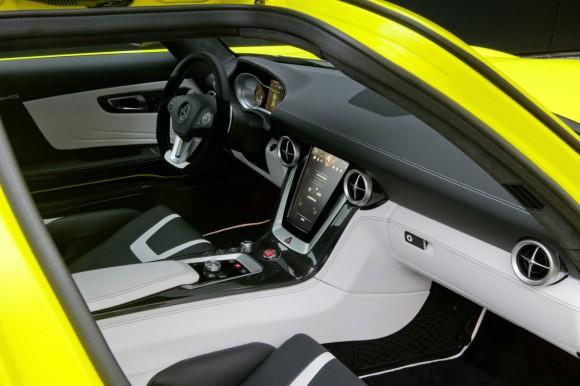 El Mercedes SLS AMG E-Cell de producción estará presente en París