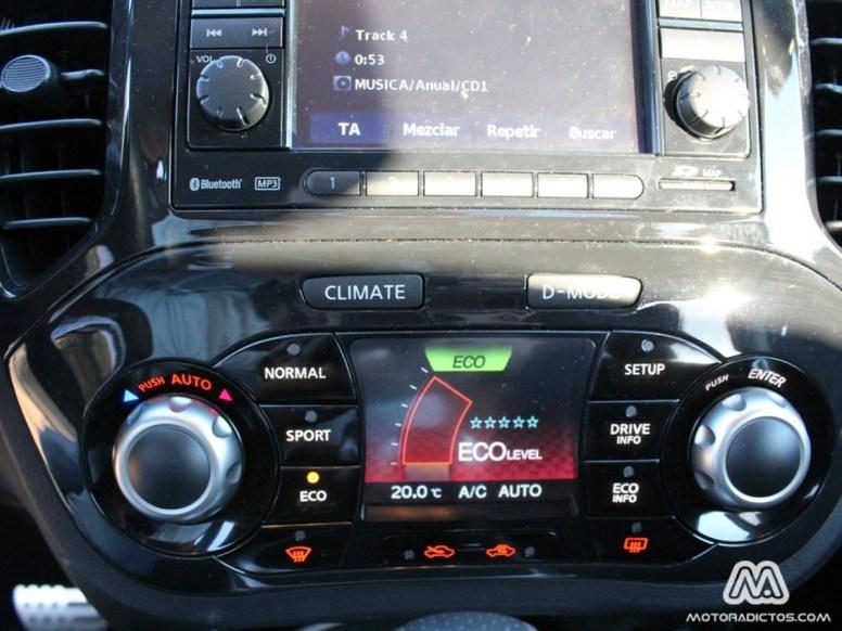 Prueba Nissan Juke 1.6 Turbo 4x4 190 caballos (parte 2)