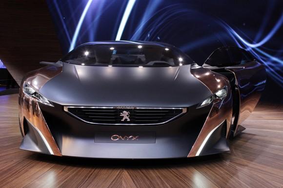 París 2012: Peugeot Onyx Concept