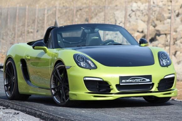 SpeedArt SP81-R, programa de personalización para tu Porsche Boxster