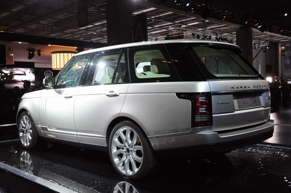 París 2012: Range Rover 2013
