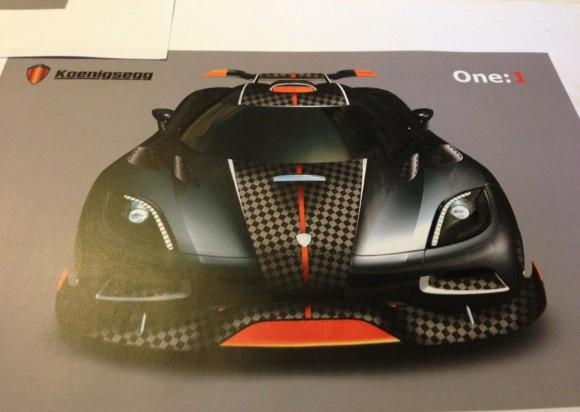 Koenigsegg Uno:1, nueva información y fotos
