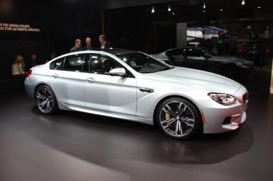 Detroit 2013: BMW M6 Gran Coupe