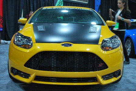 Detroit 2013: Shelby Ford Focus ST