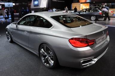 Detroit 2013: BMW Serie 4 Coupé Concept