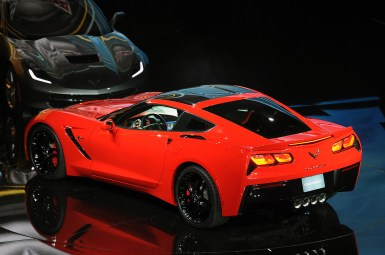 Detroit 2013: Chevrolet Corvette Stingray