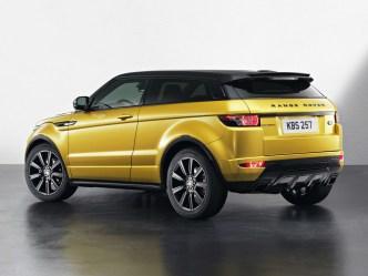 Range Rover Evoque Sicilian Yellow