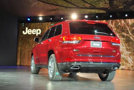 Detroit 2013: Jeep Grand Cherokee