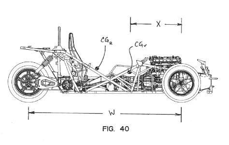 Una patente de Polaris nos muestra el diseño de un vehículo de tres ruedas