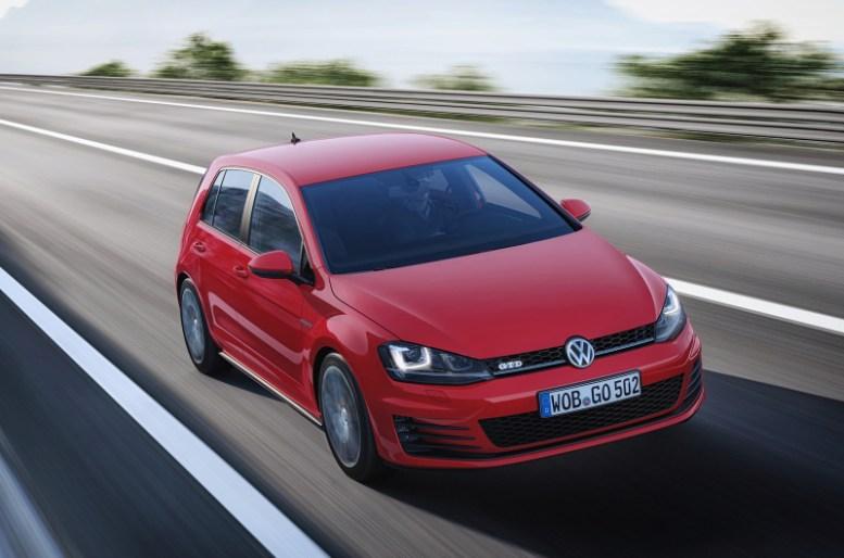 Volkswagen Golf 7 GTD, destino: Ginebra