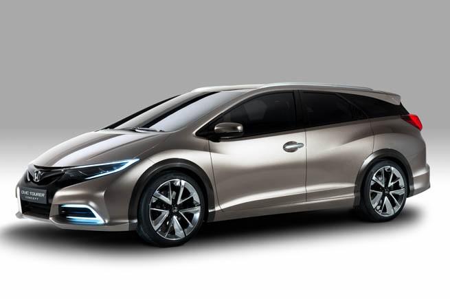 Honda Civic Tourer Concept, filtración pre-Ginebra