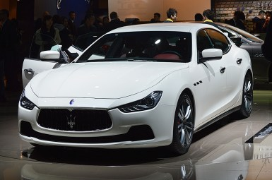 Shanghai 2013: Maserati Ghibli