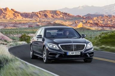 Filtradas más imágenes del Mercedes Clase S W222 antes de su presentación
