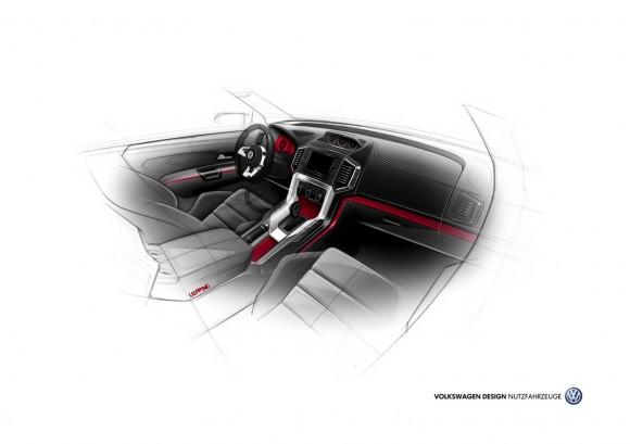 Volkswagen Amarok R-Style Concept, directo al Wörthersee Tour