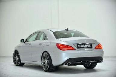 Brabus se atreve con el Mercedes CLA