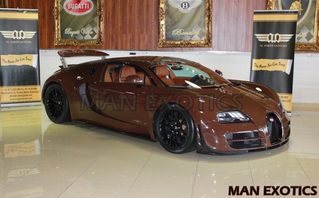 Bugatti Veyron Super Sport, a la venta en Dubai