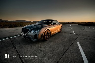 Bentley Continental GT por Vilner