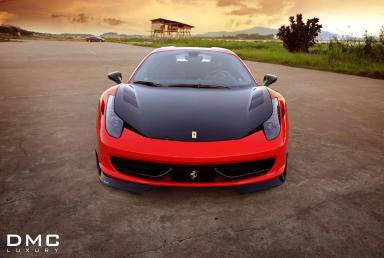 DMC nos muestra su nuevo Ferrari 458 Spider