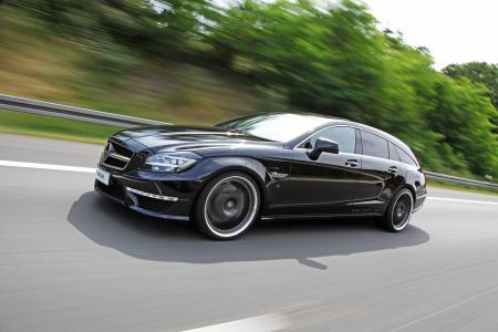 Mercedes CLS63 AMG Shooting Brake por Väth