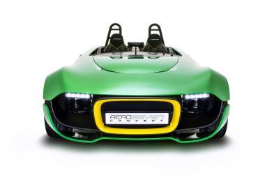 Caterham Aeroseven Concept, biplaza deportivo de diseño futurista