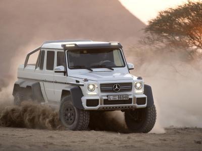 Mercedes pone precio al G63 AMG 6x6