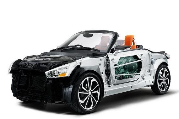 Daihatsu Kopen Concept, el relevo del Copen