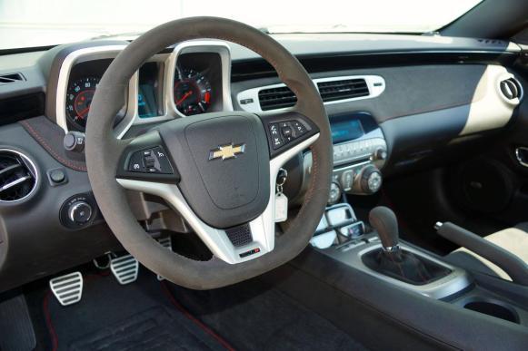 Chevrolet Camaro LS9, la última creación de Geigercars