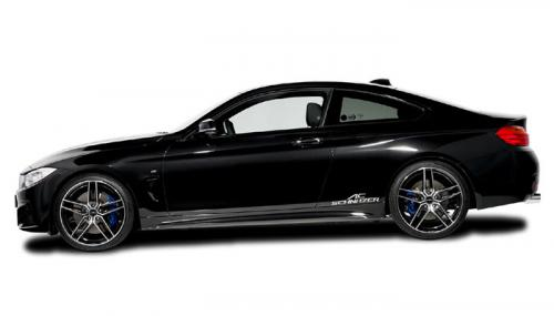 BMW Serie 4 Coupé por AC Schnitzer