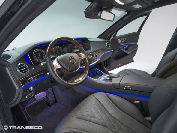 Blinda tu Mercedes Clase S gracias a Transeco 2