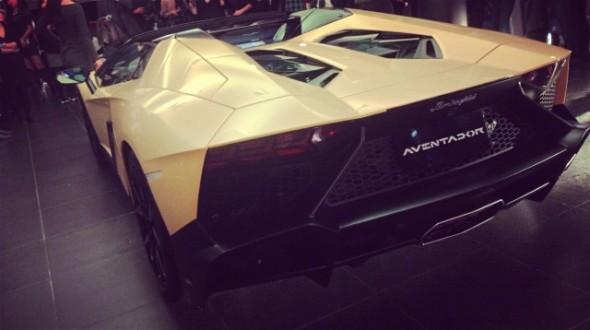 Lamborghini Aventador LP720-4 50 Anniversario Roadster, cazado en China 4