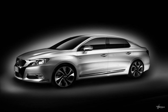 Citroën DS 5LS: Rumbo a China