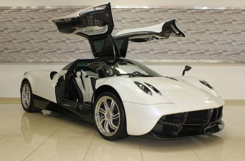 Sólo 1,25 millones de euros: A la venta un Pagani Huayra en Dubai