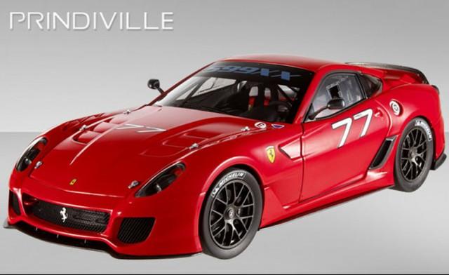 A la venta un Ferrari 599XX en Reino Unido 1