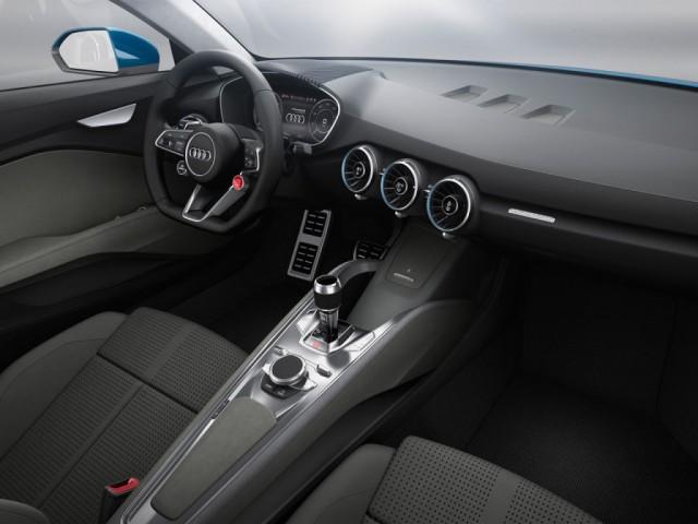 Audi nos muestra un concepto de Crossover que anticipa la línea del próximo TT 2