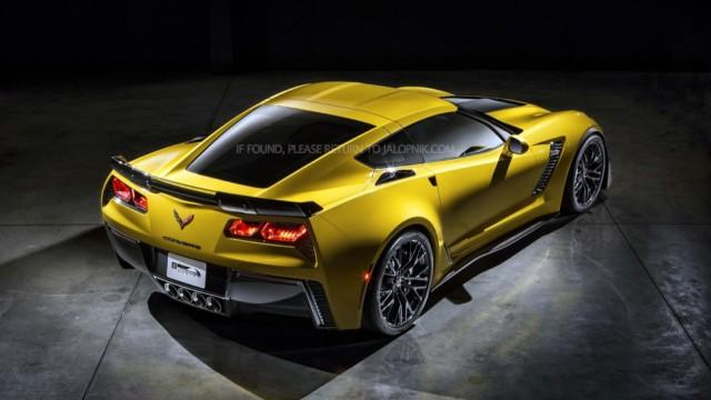 Filtradas las primeras imágenes del Corvette Z06 2014 2