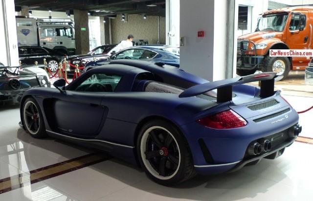 Gemballa Mirage GT Matte Blue Edition a la venta 3