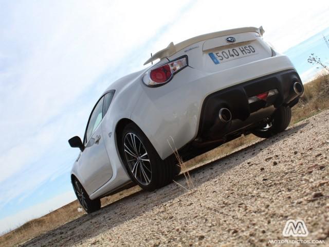 Prueba: Subaru BRZ (diseño, habitáculo, mecánica)