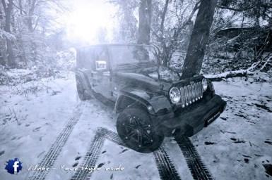 El Jeep Wrangler pasa por el garaje de Vilner