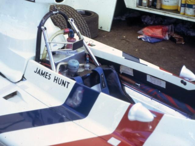 A subasta el Hesketh 308 con el que debutó James Hunt 3