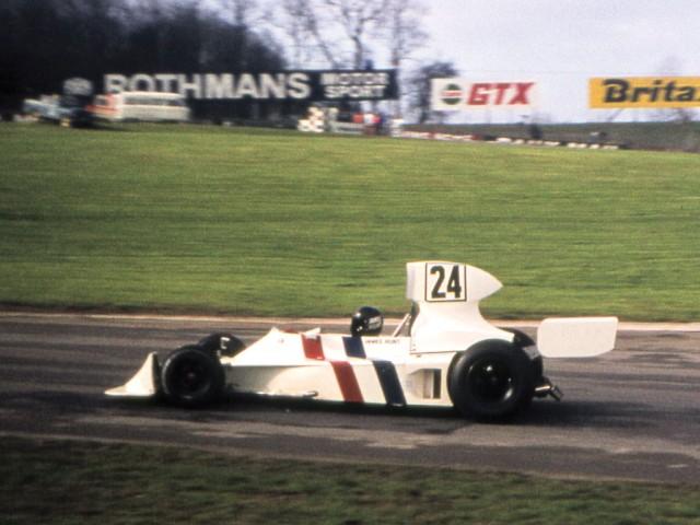 A subasta el Hesketh 308 con el que debutó James Hunt