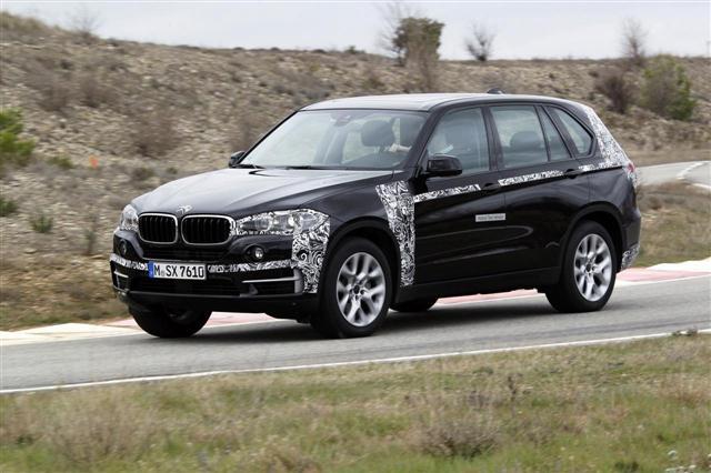 BMW adelanta el X5 híbrido enchufable 3