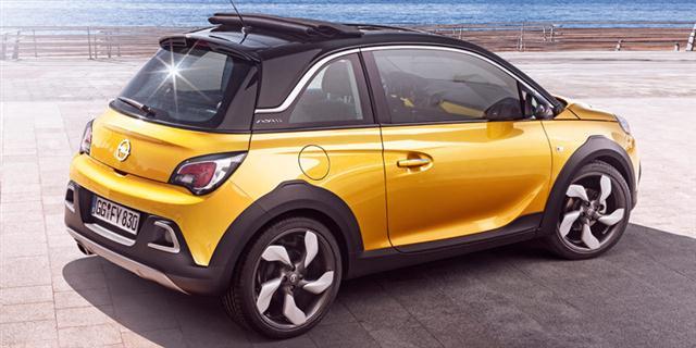 Oficial: Opel Adam Rocks de producción 4