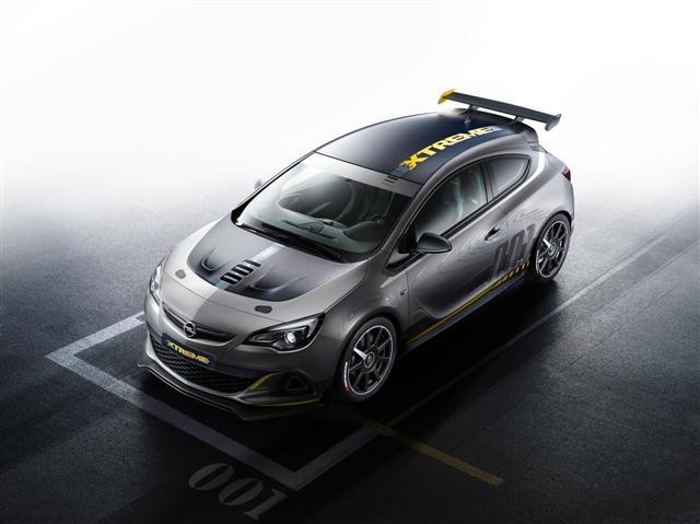 El Opel Astra OPC EXTREME llegará el próximo año