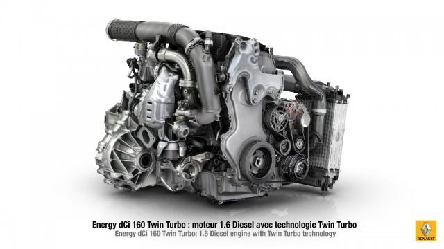 Renault anuncia el 1.6 Energy dCi 160 Twin Turbo 2