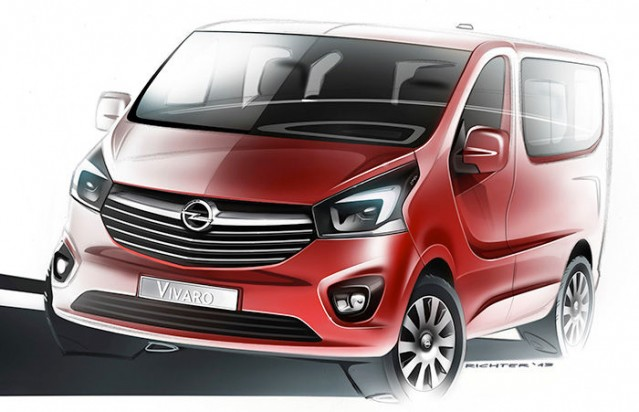 Teaser del nuevo Opel Vivaro y Renault Trafic 1