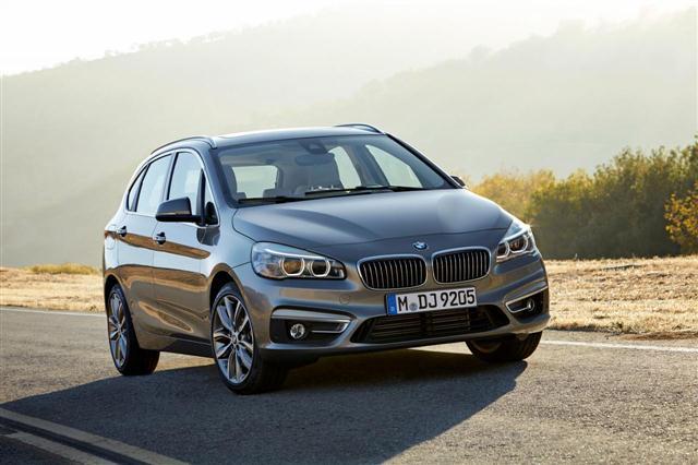 El BMW Serie 2 Active Tourer cruzará el charco... sin esperanza 2