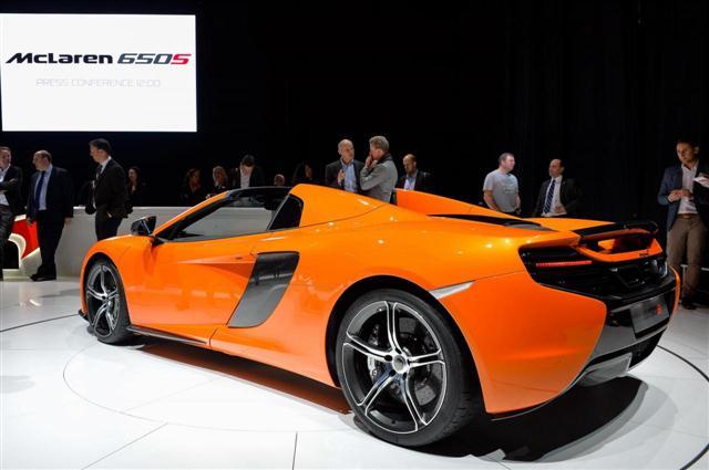 Ginebra 2014: McLaren 650S Spider 3