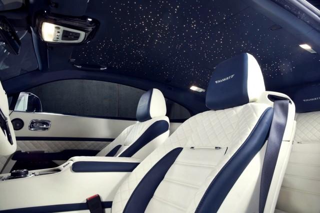 Mansory se presenta en Ginebra junto a un Rolls-Royce Wraith de 740 caballos 2