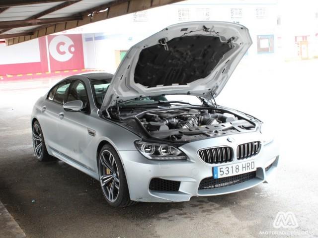 Prueba: BMW M6 Gran Coupé (diseño, habitáculo, mecánica)